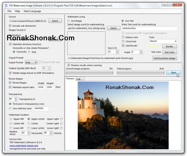 Tsr Watermark Image Software Free Download